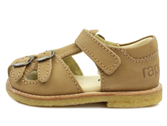Arauto RAP sandal nob camel with buckles and velcro
