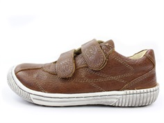 Arauto RAP leather trainer cognac with velcro