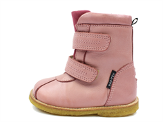Arauto RAP winter boot pink with velcro and TEX
