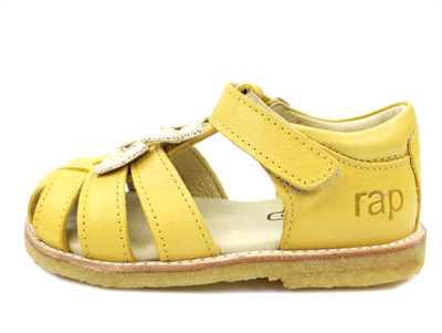 Arauto RAP sandal yellow with loops and velcro