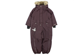Wheat snowsuit Moe eggplant