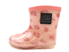 Petit by Sofie Schnoor winter rubber boot pink leopard glitter