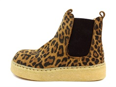 Angulus ancle boot leopard with velcro
