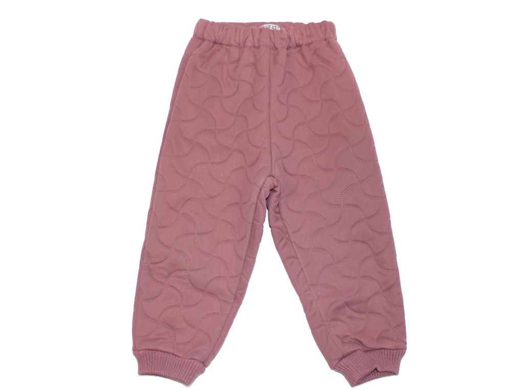 Wheat Alex thermal trousers plum