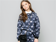 Petit by Sofie Schnoor sweatshirt black flowers