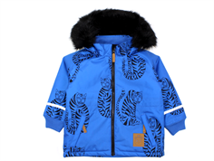 Mini Rodini winter jacket parka tiger blue