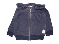 Small Rags Bay jacket/cardigan dark navy
