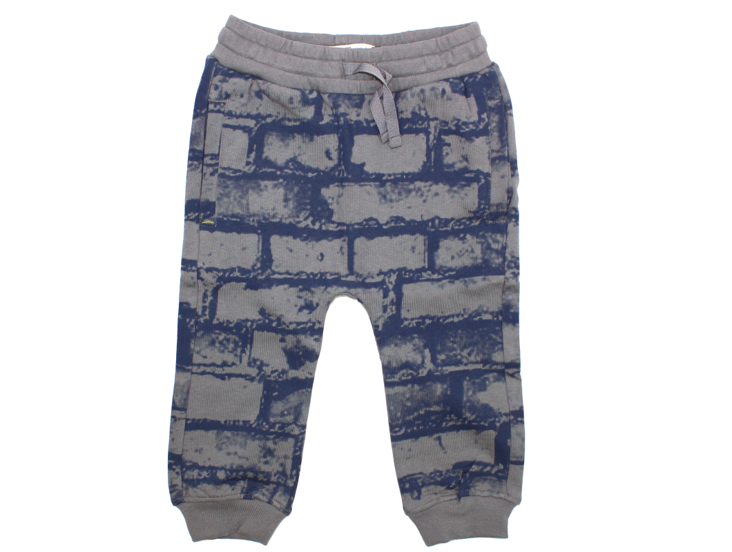 buy small rags eddy pants gray castle at milkywalk