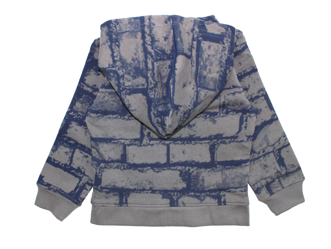 buy small rags eddy cardigan gray castle at milkywalk