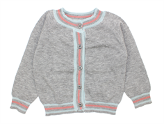 Small Rags Grace cardigan gray melange
