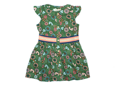 Small Rags Grace dress fairway green flowers