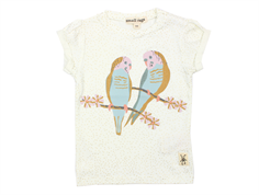 Small Rags Grace t-shirt off white birds