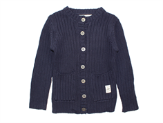 Small Rags cardigan navy blue iris