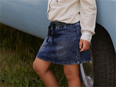 Small Rags denim skirt