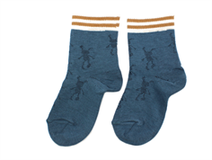 Small Rags socks Hubert orion blue
