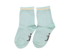 Small Rags socks Grace cloud blue glitter