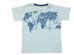 Small Rags t-shirt gray mist map