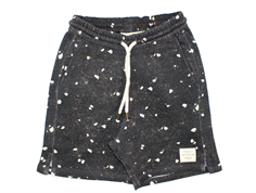 Soft Gallery Alisdair shorts black terrazzo