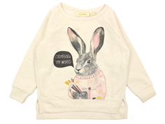 Soft Gallery Antonia sweatshirt cream melange conejo