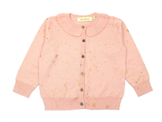 Soft Gallery Baby Cici cardigan pale blush gold cosmo