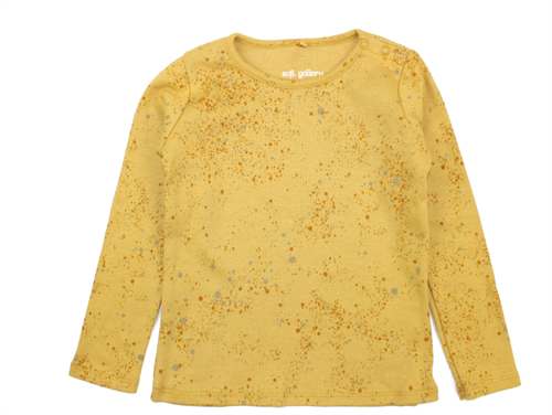 Soft Gallery t-shirt Bella mini splash yellow