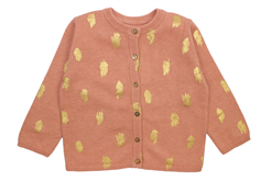 Soft Gallery Carrie cardigan peach beige