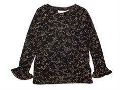 Soft Gallery blouse Elia jet black flowerdust