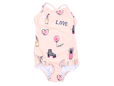 Soft Gallery Ida swimsuit rose cloud candy UV