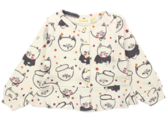 Soft Gallery June cardigan cream melange kittens
