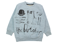 Soft Gallery Konrad sweatshirt citadel black butcher