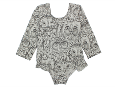 Soft Gallery Luca gym suit owl drizzle