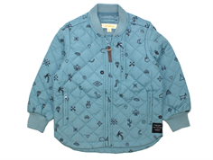 Soft Gallery Michell thermosjacket smoke blue