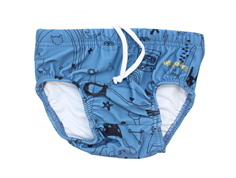 Soft Gallery Miki swim shorts copen blue quirky UV