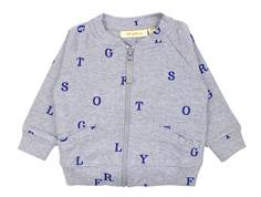 Soft Gallery Shay jacket/cardigan gray melange letters