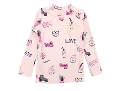 Soft Gallery bathing blouse Astin rose cloud candy UV