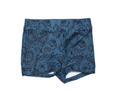 Soft Gallery trunks Don orion blue owl