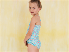 Soft Gallery swimsuit Ida blue tint rainbow UV