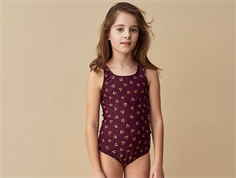 Soft Gallery swimsuit Peak FIG winterberry