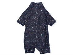 Soft Gallery swimsuit/coveralls Rey India ink UV