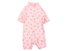 Soft Gallery swimsuit/coveralls Rey chintz rose UV