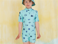 Soft Gallery swimsuit/coveralls Rey ocean wave UV