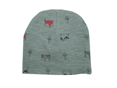 Soft Gallery beanie dark forest fox