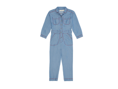 Soft Gallery jumpsuit Bernelle dark denim wash