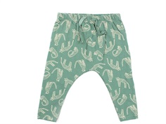 Soft Gallery pants Faura green bay aop leoline