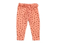 Soft Gallery pants Cami tawny orange camomiles