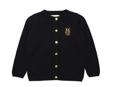 Soft Gallery cardigan Carrie owl jet black