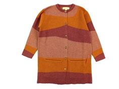 Soft Gallery knit cardigan Ginette dunes wool/polyamide