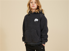 Soft Gallery hoodie Barron teddy coal