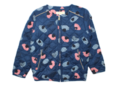Soft Gallery Monroe jacket india ink bloom