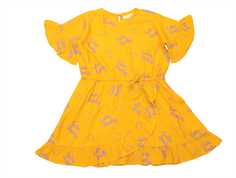 Soft Gallery dress Dory sunflower lemon